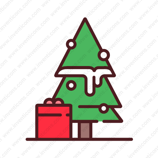 Download Christmas,tree Icon Inventicons