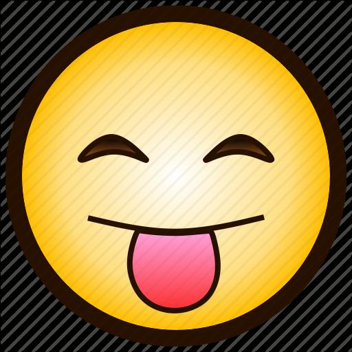 Color, Drooling, Emoji, Happy, Smile, Tongue, X P Icon