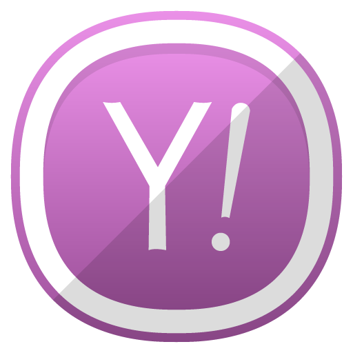 Yahoo Icon Free Cute Shaded Social Iconset Designbolts