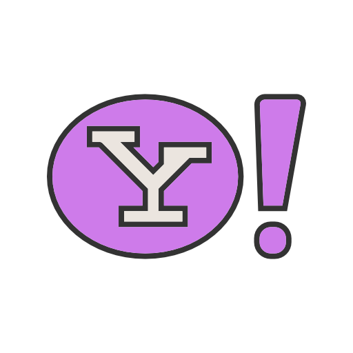 Yahoo Icon Free Of Social Media Logos I Filled Line