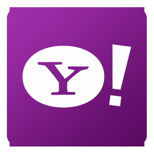 Yahoo Icon Flat Gradient Social Iconset Limav