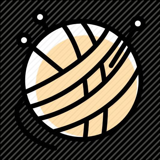 Ball, Needle, Sew, Thread, Yarn Icon