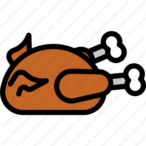 Download Thanksgiving,dinner,food,chicken Icon Inventicons