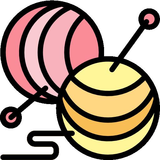 Yarn Ball Free Vector Icons Designed