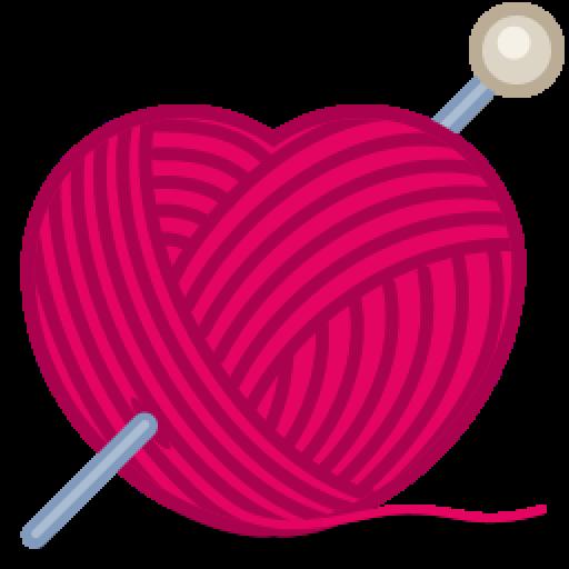 Cropped Cat Yarn Icon