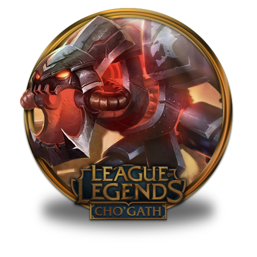 Chogath Mecha Icon League Of Legends Gold Border Iconset