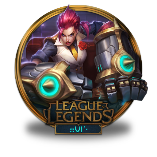 Vi, Debonair Icon Free Of League Of Legends Gold Border Icons