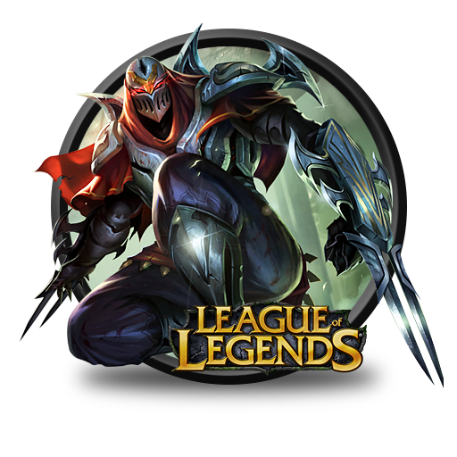 Zed Icon League Of Legends Iconset