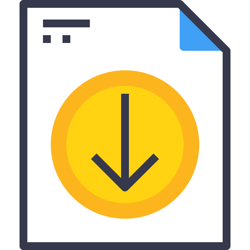 Document, Arrow, Down, Download Icon Free Of And Document