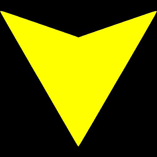 Yellow Arrow Icon