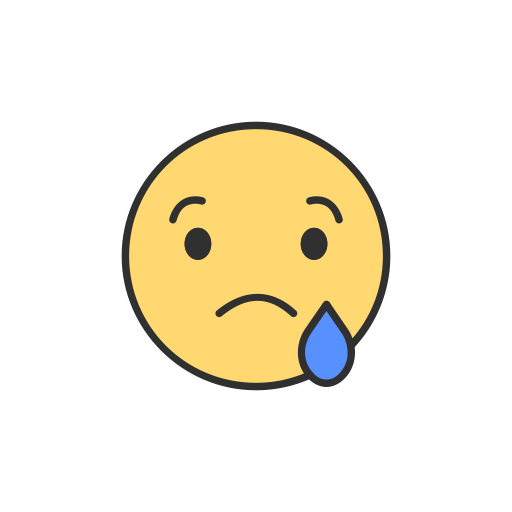 Crying, Emoji, Facebook, Sad Emoji Icon