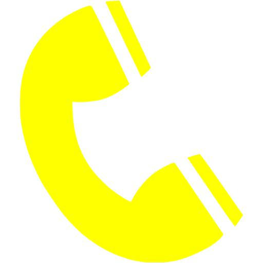Yellow Phone Icon Free Icons