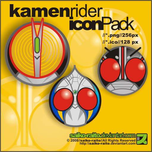 Kamen Rider Icon Pack