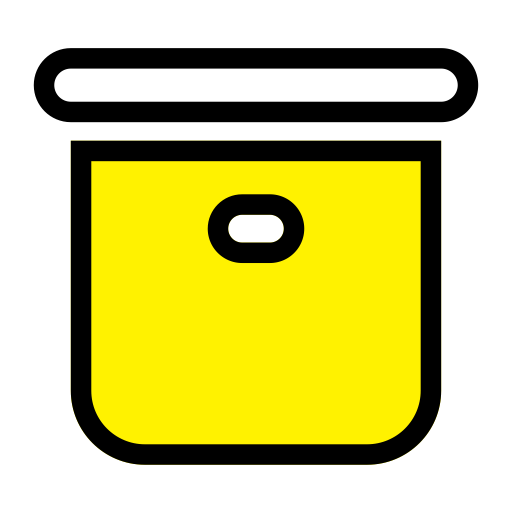 Yellow Minimalist Icon Pack, Vector Icons For Free Download