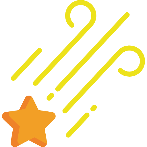 Shooting Star Icon Weather Freepik