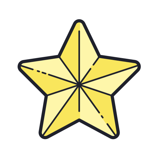 Christmas, Star Icon Free Of Merry Holidays