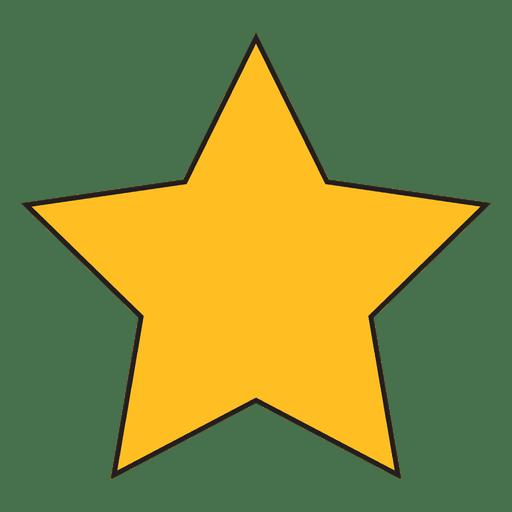 Star Cartoon Icon