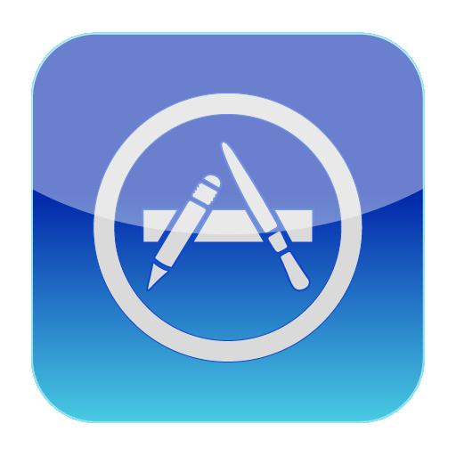 Apple App Store Vector Icon Icon