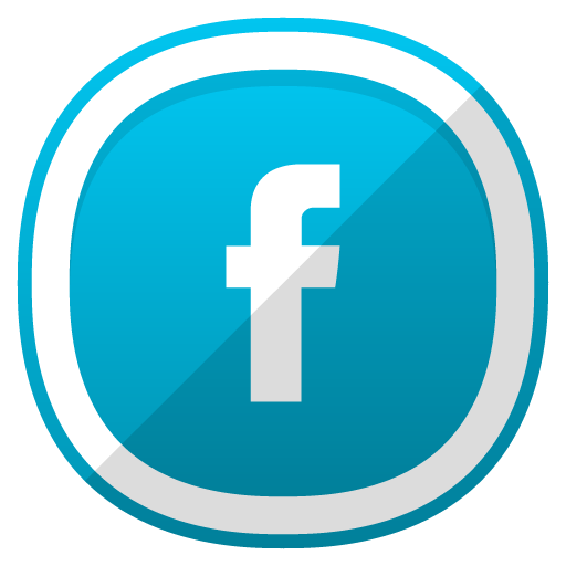 Facebook Icon Free Cute Shaded Social Iconset Designbolts