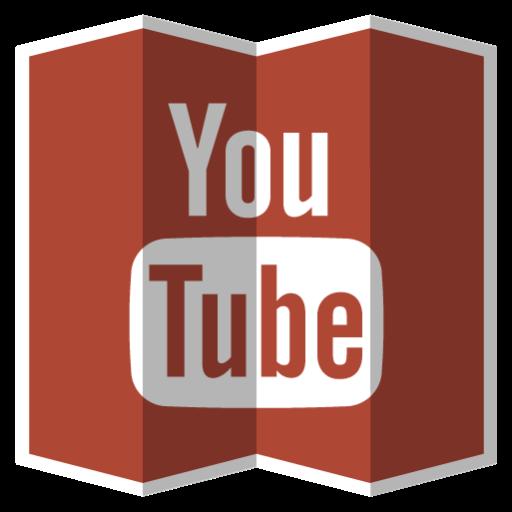 Youtube, Social Network Icon Free Of Folded Social Media Icons