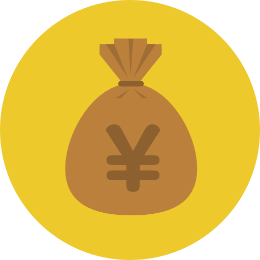 Business, Money, Yen Icon