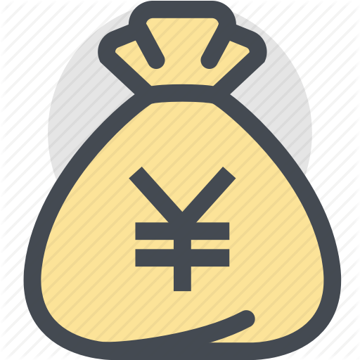 Bag, Business, Currency, Dollar Bag, Finance, Money, Yen Icon