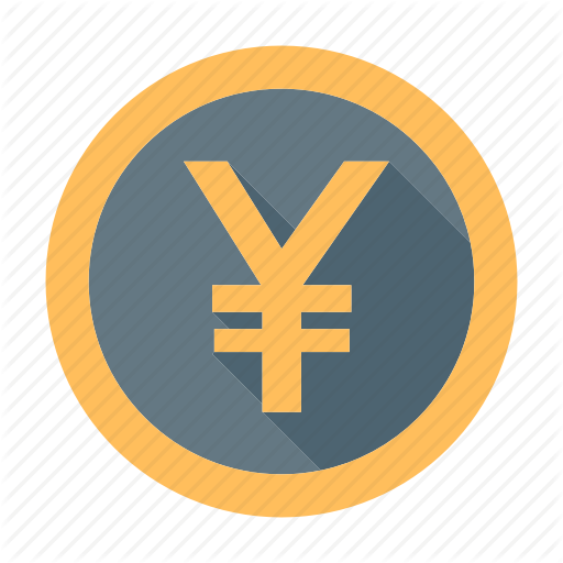 Banking, Coin, Currency, Japan, Japanese, Money, Yen Icon