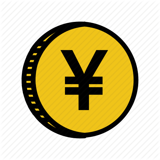 Cash, Coin, Currency, Gold, Japan, Money, Yen Icon