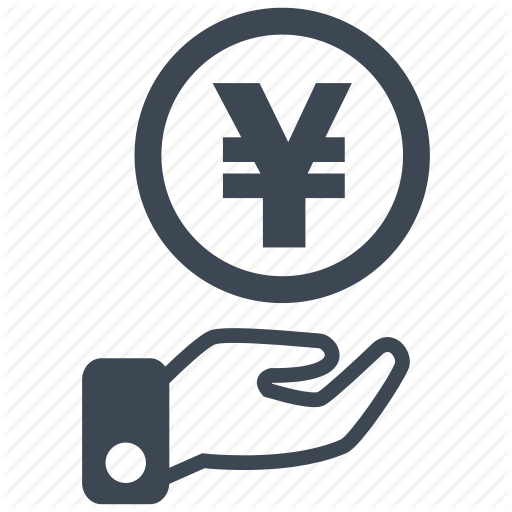 Cash, Currency, Debit, Loss, Money, Profit, Yen Icon