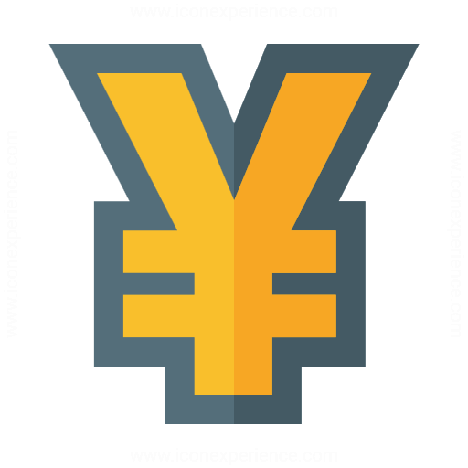 Iconexperience G Collection Symbol Yen Icon