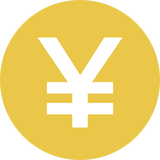 Yen Jpy Icon Cryptocurrency Flat Iconset Christopher Downer