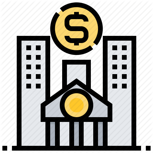 Bank, Earning, Finance, Institute, Yield Icon