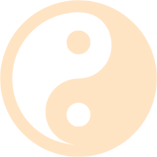 Bisque Yin Yang Icon