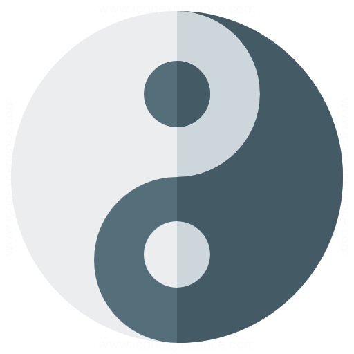 Iconexperience G Collection Yinyang Icon