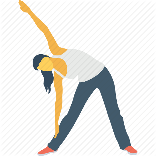 Body, Pose, Side Angle Pose, Side Extended, Yoga Pants Icon