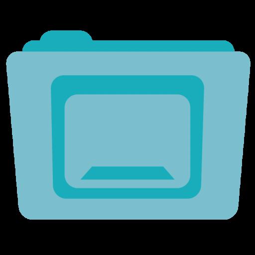 Folder Desktop Icon Stock Folder Iconset Hamza Saleem