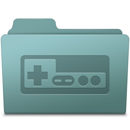 Game Folder Willow Icon Smooth Leopard Iconset Mcdo Design