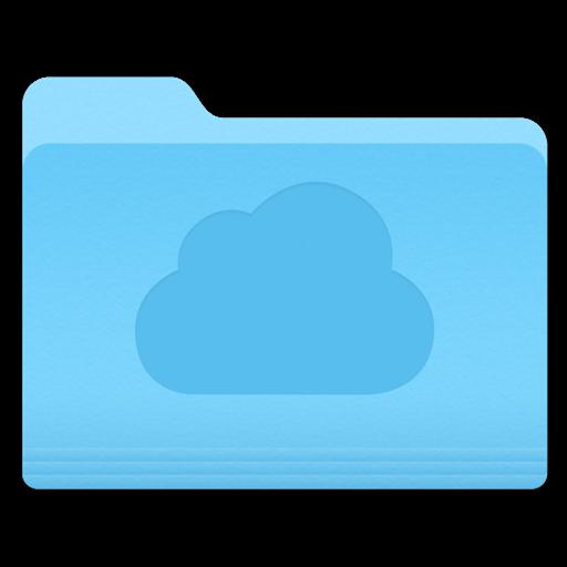 Yosemite Cloud Folder Icon