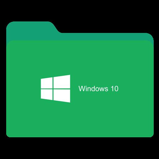 Folder Green W Icon