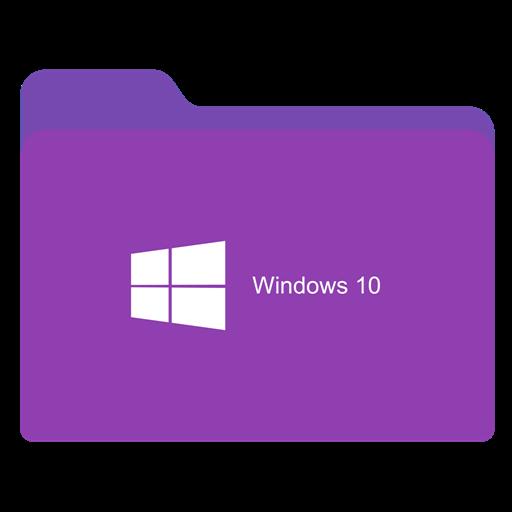 Folder Ligth Purple W Icon