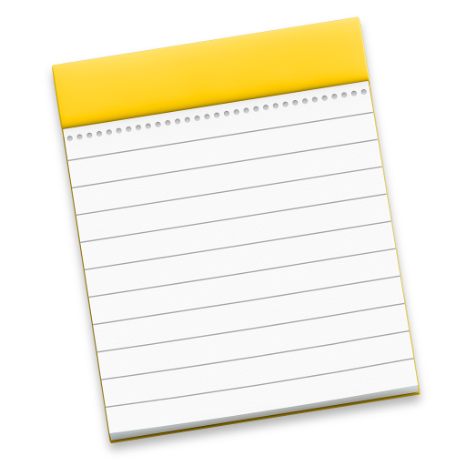 Notes Icon Free Of Os X Yosemite Preview Icons