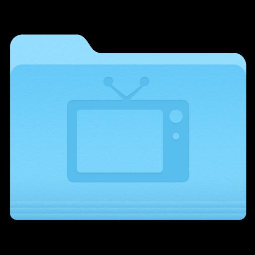 Yosemite Television Folder Icon