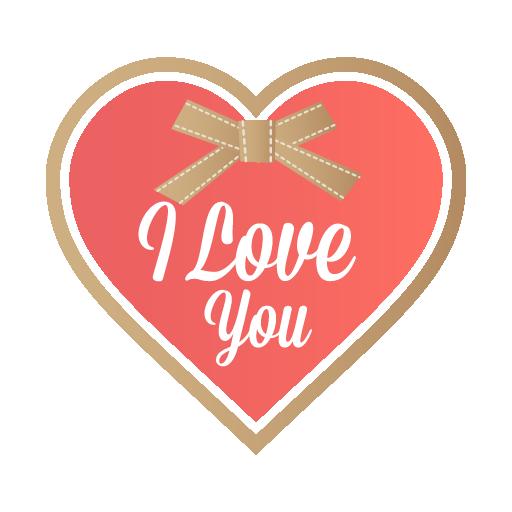 I Love You Icon Valentine Iconset Designbolts