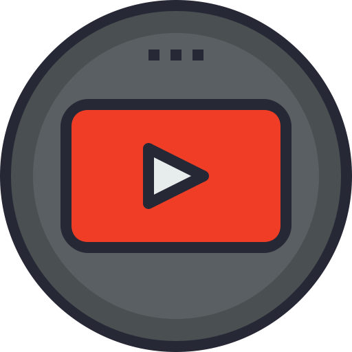 Social, Youtube, Android, Media, Global, App, Ios Icon
