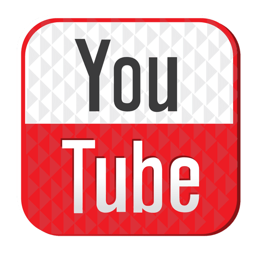 Youtube Rubber Icon