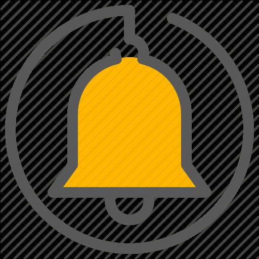 Alarm, Alert, Bell, Notification Icon