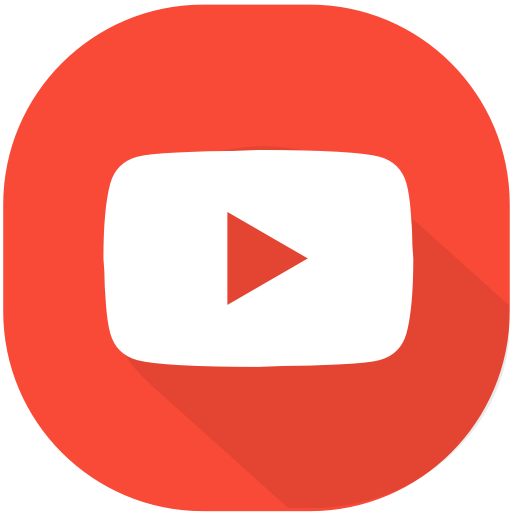 Circle, Design, Material, Play, Video, Web, Youtube Icon