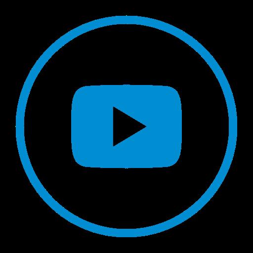 Google, Social, Youtube, Multimedia, Media, Video, Circle Icon