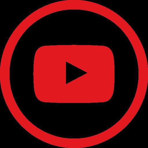 Social, Media, Youtube, Circle Icon Free Of Social Media