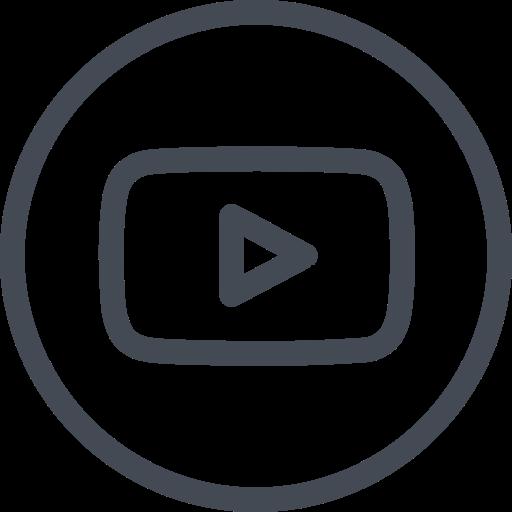 Circle, Social, Youtube Icon Free Of Social Media Set